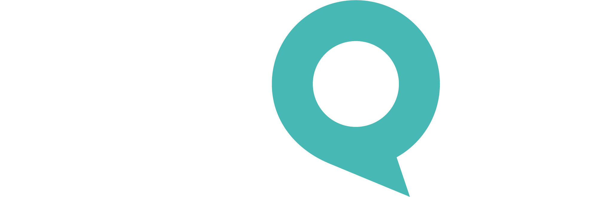 MyQM | Logo | Couleurs Négatif